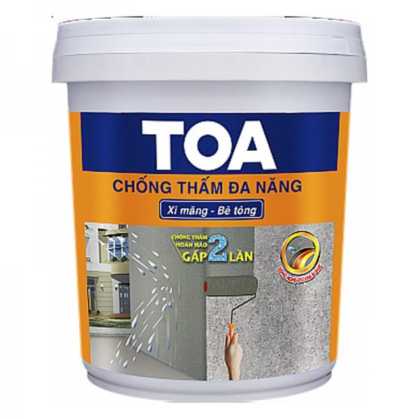 Sơn chống thấm đa năng TOA - 4kg