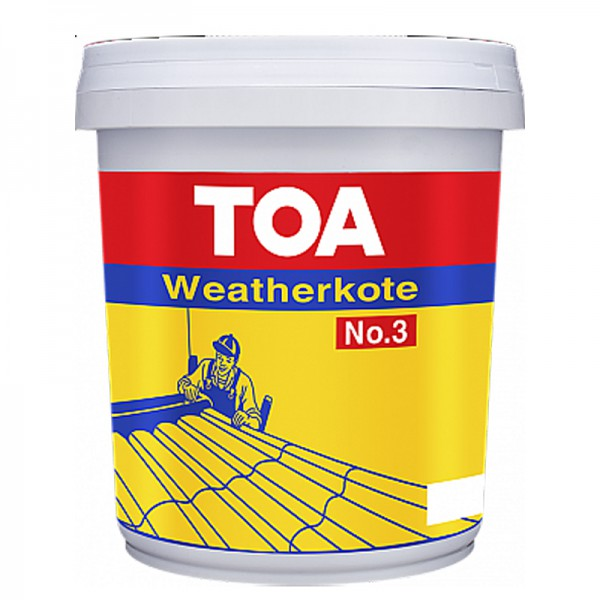 Sơn chống thấm TOA WEATHERKOTE NO.3 - 3.5Kg