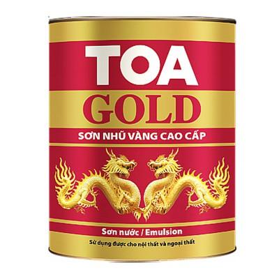 Sơn nước nhũ vàng cao cấp TOA GOLD EMULSION - 875ML