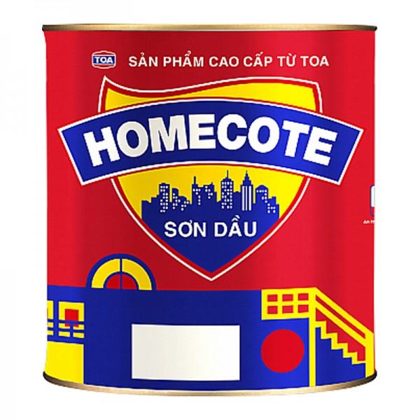 Sơn dầu bóng cao cấp TOA HOMECOTE - 17.5L