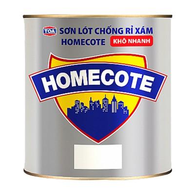 Sơn lót chống rỉ màu xám TOA HOMECOTE - 800ML