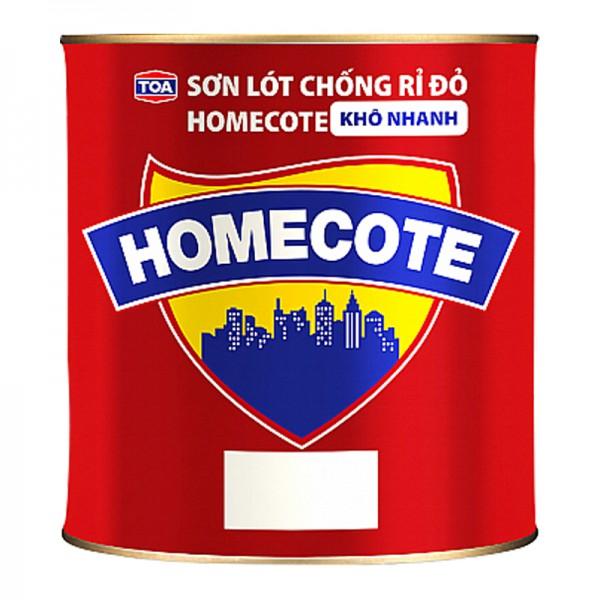 Sơn lót chống rỉ màu đỏ TOA HOMECOTE - 375ML