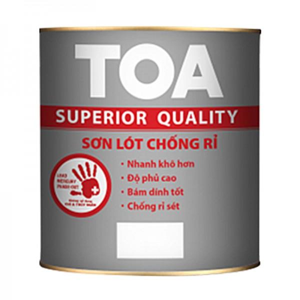 Sơn lót chống rỉ cao cấp màu xám TOA - 3L