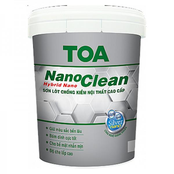 Sơn lót chống kiềm nội thất cao cấp TOA NANOCLEAN - 5L