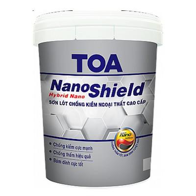 Sơn lót chống kiềm ngoại thất cao cấp TOA NANOSHIELD - 18L
