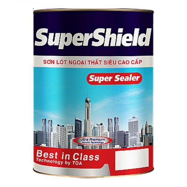 Sơn lót ngoại thất cao cấp TOA SUPERSHIELD SUPER SEALER - 18L