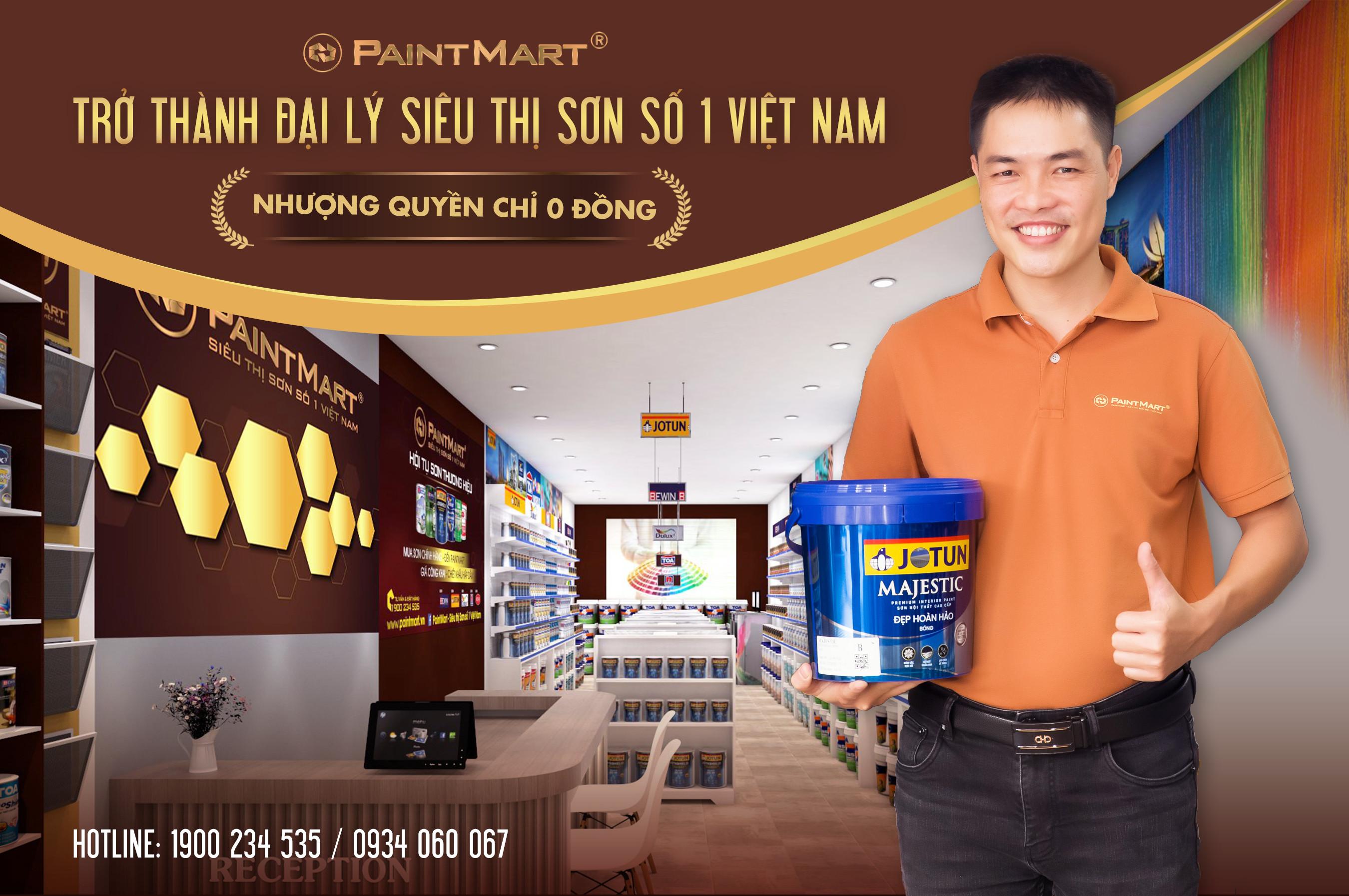 Siêu Thị Sơn Paint Mart số 1 Việt Nam