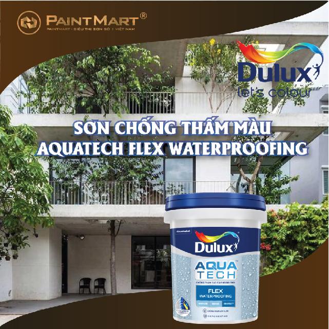 Sơn chống thấm Dulux Aquatech