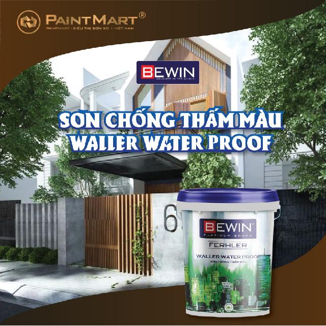 Sơn chống thấm Bewin Waller Water Proof