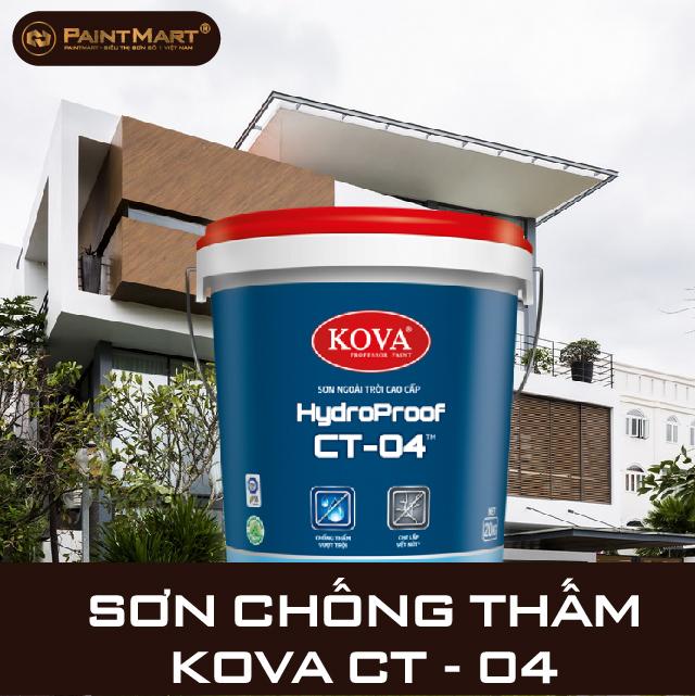 Sơn chống thấm Kova CT - 04