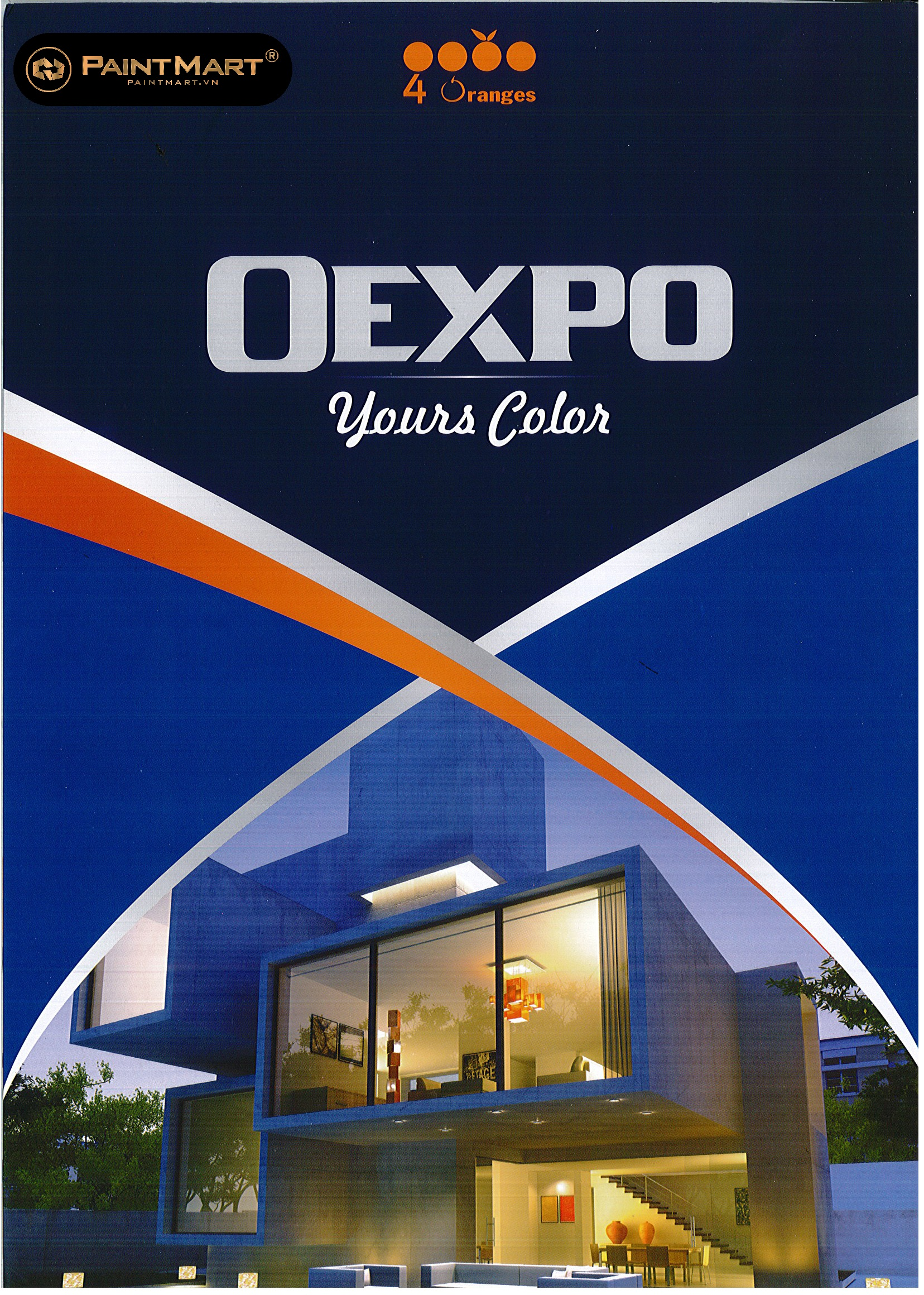 Bảng màu sơn OEXPO
